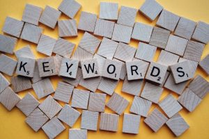 Nøkkelord eller keywords for SEO